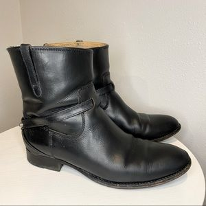 Frye Lindsay Plated Short Boots
